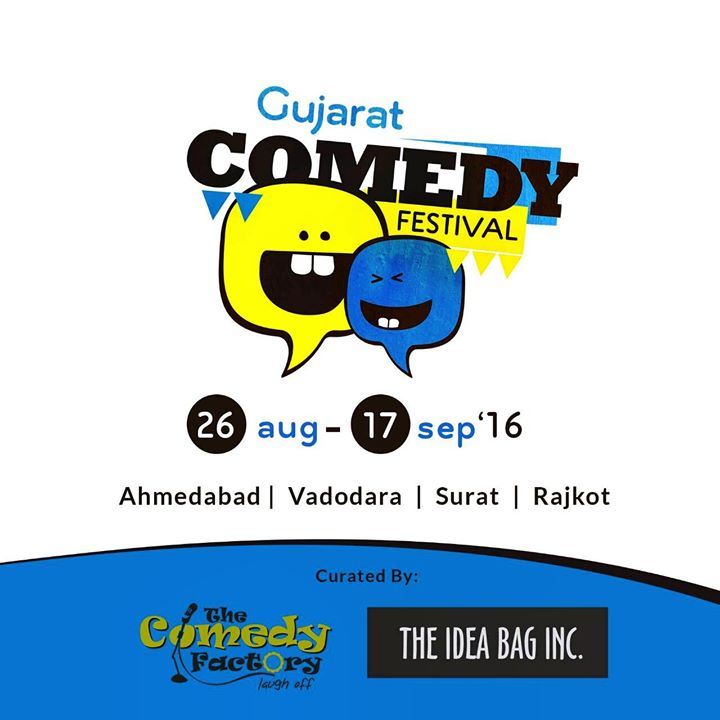 Are you ready for the biggest comedy festival in Gujarat?;) tickets out soon :D