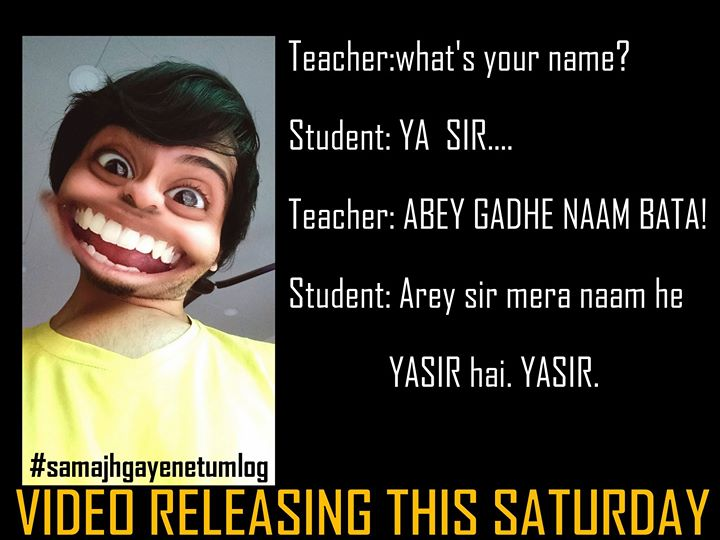 This guy is an interesting character to know in life.   Video will be out this Saturday.  #snapchat #character #samajhgayenetumlog #funnyindian