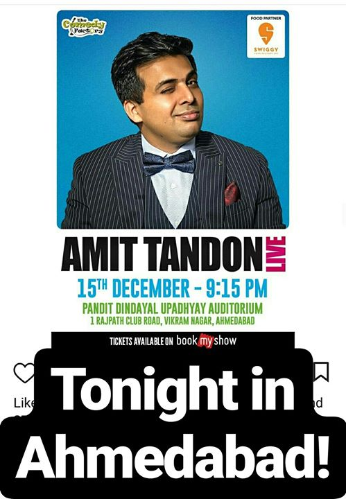 Friday night is LIT for Ahmedabad. For tickets call on 9879113983