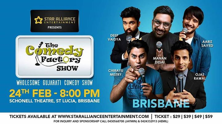 Its a 120minutes hilarious Roflcopter wholesome Gujarati comedy show. Help me reach out your friends and families in Australia, they should definitely not miss this feel like home feeling SAAT SAMUNDAR PAAR😄   Book tickets on: www.starallianceentertainment.com  #tcfinaustralia#indiansinbrisbane#indiansinsydney#indiansinmelbourne#indiansinperth#thingstodobrisbane#thingstodoinsydney#thingstodoinmelbourne#thingstodoinperth#brisbane#sydney#melbourne#perth#australiangujju#starallianceentertainment  @ Australia