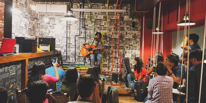 About last night. Music is my camouflage.  #musicopenmic
