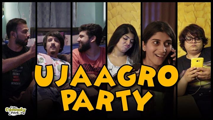 New comedy video releasing tonight on my page, it's a Gujarati sketch but english subtitles are available so don't you worry :D  #comedysketch #thecomedyfactory #sleepover #parties