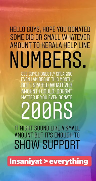 There are many help line numbers available online.