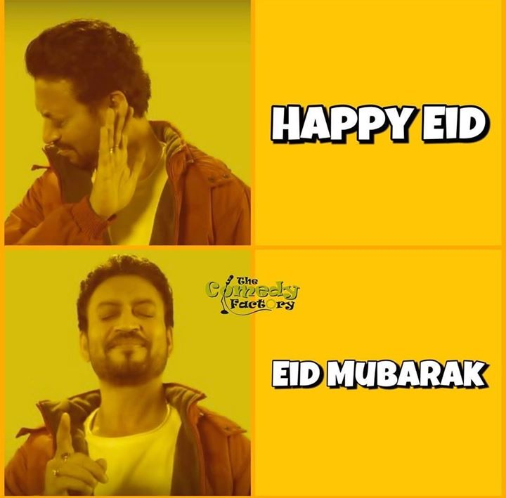 Take care when you wish your friends 😅  #thecomedyfactory #eidmemes