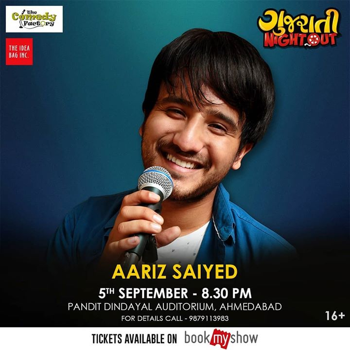 Doing a musical medley on 5th September Ahmedabad for this Dhamaal show Gujarati night out 🤘🏻 aajao Ahmedabad friends :)  #thecomedyfactory#thingstodoinahmedabad#ahmedabad#amdavadi#livemusic