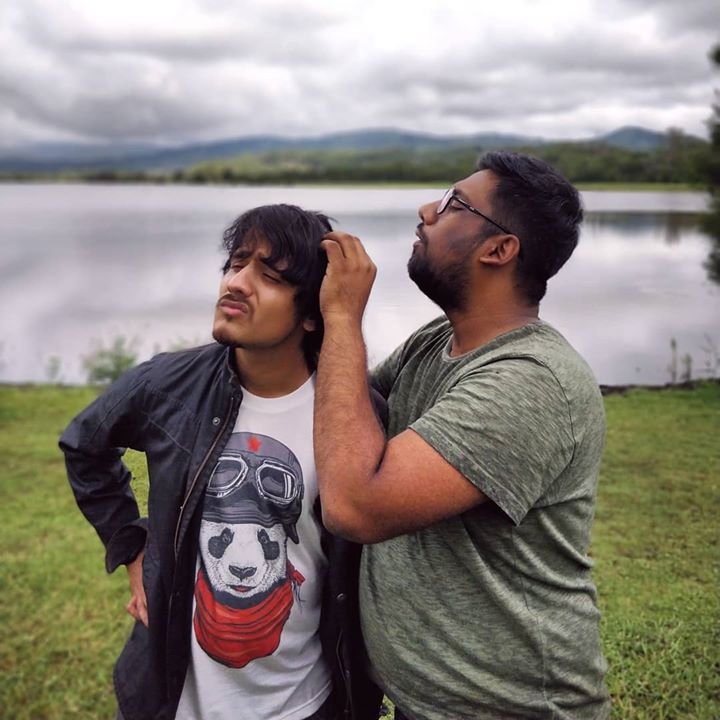 Happy birthday to the co-founder of @thecomedyfactoryindia  and the guy who taught me and got me into Stand-up comedy.  I started knowing you as an intern and now we are like one big family, as two creative people at one place we do have our differences at work sometimes but that never had anything to do with the personal bond we always shared. Music and comedy will always be our ligature. Let's win hearts across the world together,  Janam Divas ni Hardik Shubhechha @instafunny_manan 🎂😎🤘🏻