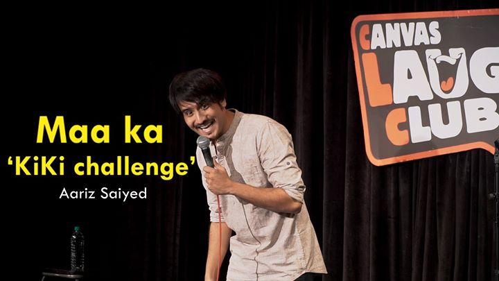 This stand-up comedy video is based on a true story :D releasing here tomorrow!  #kikichallenge #standupcomedy #canvaslaughclub