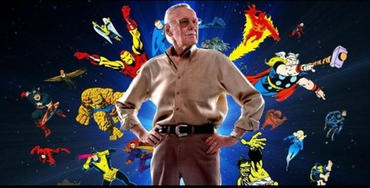 Thank you for everything Mr. Stan Lee. Rest in peace.