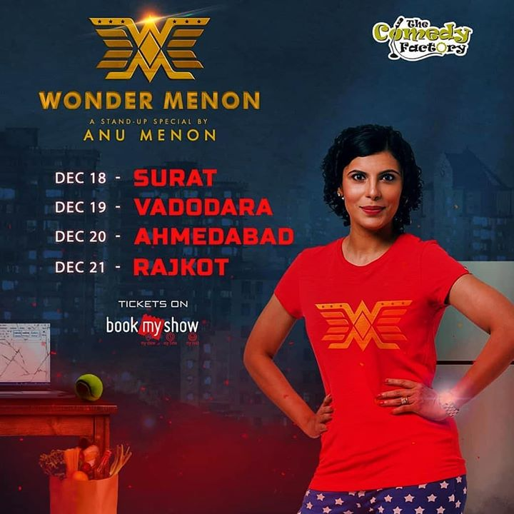 You may remember her as Lola Kutty from channel V. She is touring her stand up comedy special in Gujarat. Tickets on book my show, also available online.  #surat #Vadodara #Ahmedabad #rajkot