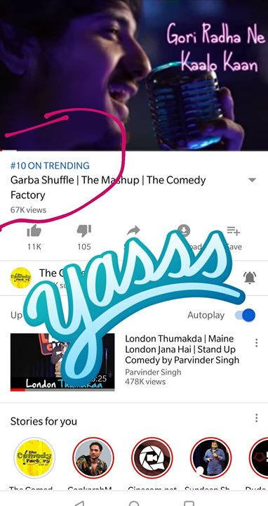 Our new video is trending on YouTube India.