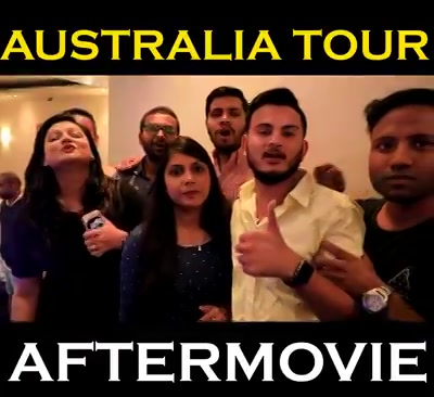 The Australia Tour was a big hit. Thank you Brisbane, Sydney, Melbourne and Perth for all the love! ❤ Sharing with you all some glimpse from our shows in Australia. Thank you for always supporting us you all : ) . Song used in background is Rangeeli Raat by Planet Parle .