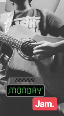A very short jam about MONDAY i did today on my instagram stories😅