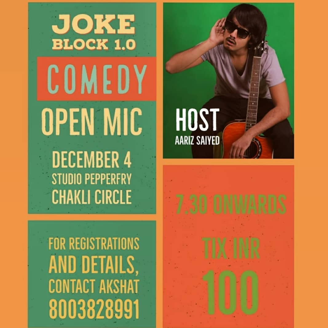 If you are in Vadodara tonight, please come :)