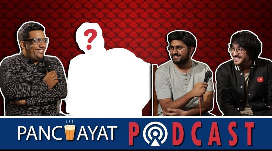 New podcast releasing this weekend, can you guess which stand up comedian is featuring in this episode ?  #podcast #youtubeindia