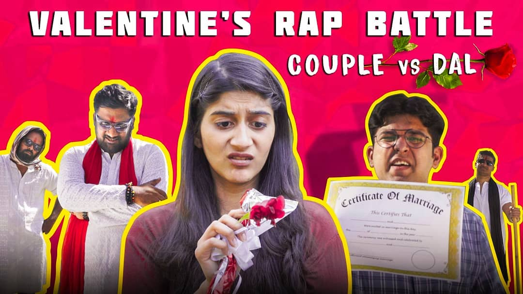 yeh video BHOT HARD hai. Releasing on @thecomedyfactoryindia youtube channel😎  #tcfindia #valentinesdayspecial #valentine2019