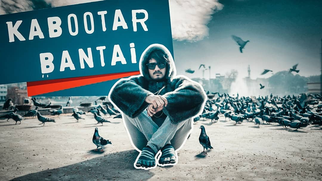 In and AS KABOOTAR BANTAI- RELEASING TONIGHT.  #pigeons #originalsong #birdsong #birds #kabootar