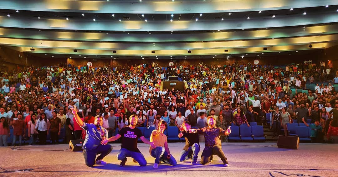 Last night we did our first show of our new material tour and this was overwhelming. Thank you Amdavad, Australia we are ready for you 😎  #tcfindia #stage #fans #audience #show #performance #standupcomedy #gujju #gujarati #gujjus #instashow #gig #auditorium #gujaratuniversity #ahmedabad #amdavadcarnival #ahmedabad_instagram #ahmedabad_diaries #ahmedabadi #amdavad #amdavadi #garvigujarat