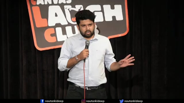 Full video link in my bio.  Our new stand-up comedy video of @nautankideep was trending on YouTube. Please dekhiye, english subtitles also available :) #tcfindia #standupcomedy #canvaslaughclub #gujju #gujarati #gir #gujjufamily