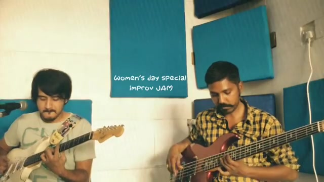 Everyday is a women's day.  Made this improv song with @sidheshwarmalakar while jamming with him today post our practice session. You can watch the full video on my Youtube channel. @ aarizsaiyed  #womensday #internationalwomensday #everydayisawomensday #improvsong #jamming #bassist #bassguitarist #bass #bassguitars #leadguitarist #unplugged #womensdayspecial #woman #musicislife #musisisbae