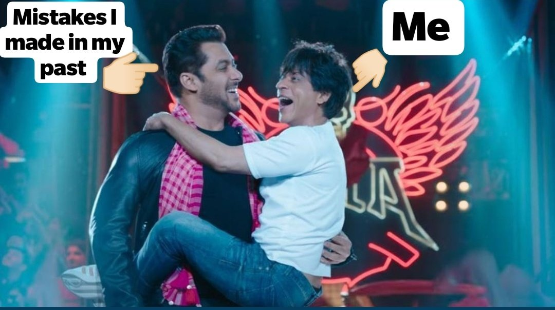 I still make the same mistakes a lot of times 😅 #ZeroTrailer https://t.co/4R5YcfT5Z6