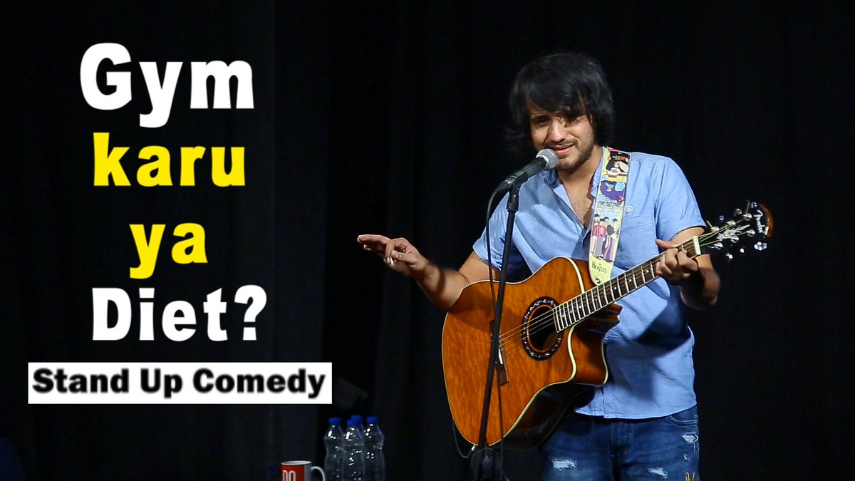 My new standup video is releasing tonight, please watch and support if you like it😁 #standupcomedy https://t.co/KzFH6gMUof