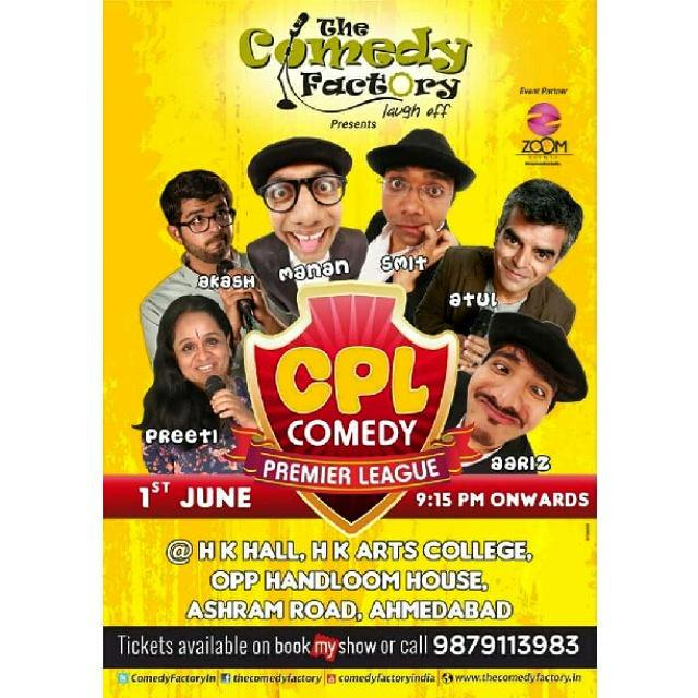 We doing a new show on 1st June in Ahmedabad, book your tickets today :) #thecomedyfactory #Ahmedabad #indiancomics http://t.co/QqkIRpTwN0