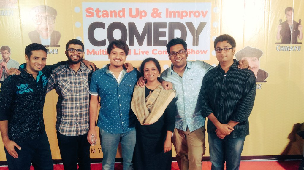Kill show last night at sportsclub Ahmedabad by our @ComedyFactoryIn  team :D #thecomedyfactory #Ahmedabad https://t.co/LxgwF9wPPC