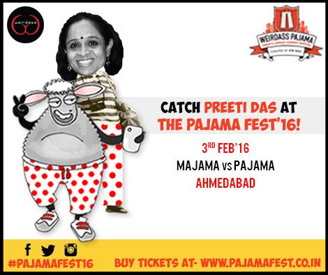 RT @TheWeirdass: Catch Preeti Das at #pajama2016! Book now!  Tix: https://t.co/XPSdidsOME https://t.co/FRTTEKxv6J