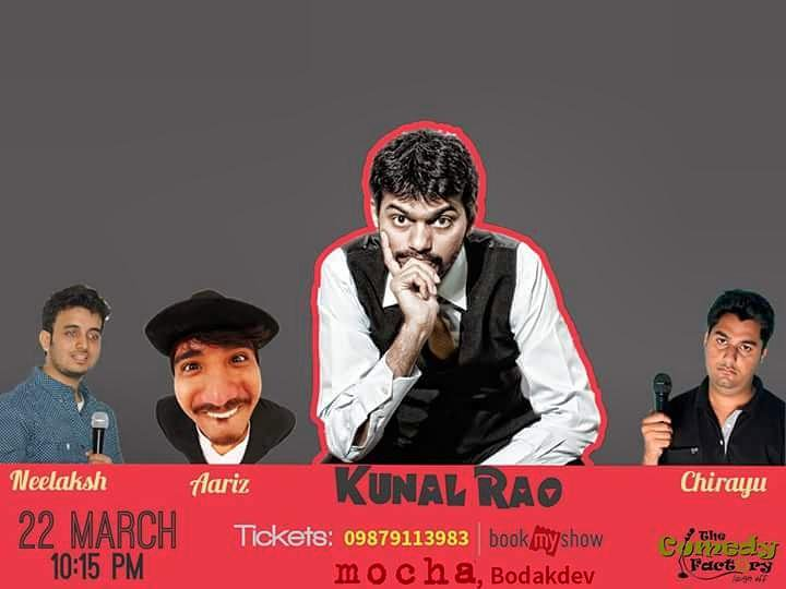 Late night show tonight at #mocha Ahmedabad! For tickets call on 9879113983! Brought to you by @ComedyFactoryIn :D https://t.co/H333RISZbj