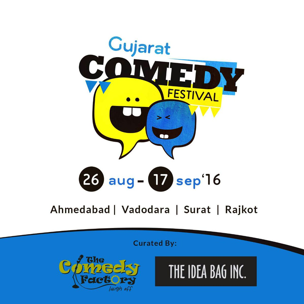 We are set to have our own comedy festival. Curated by @ComedyFactoryIn and idea bag. Inc :D https://t.co/fiW4GkRcVq